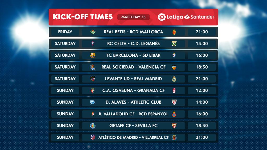 ENG_LaLiga Santander Matchday 25
