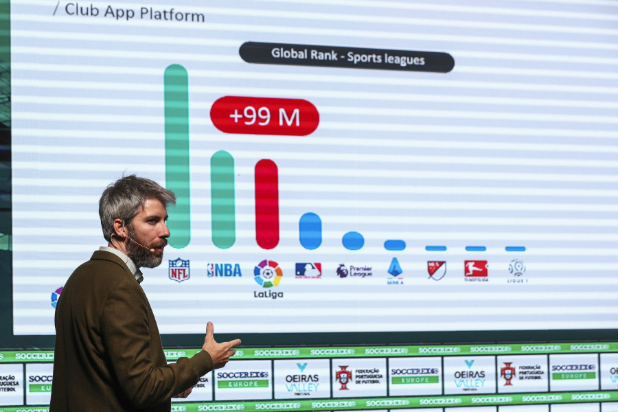 Daniel Vicente, LaLiga Head of Apps and Gaming, in the Soccerex forum (2)