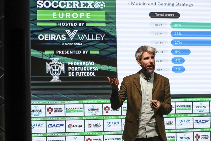 Daniel Vicente, LaLiga Head of Apps and Gaming, in the Soccerex forum (3)