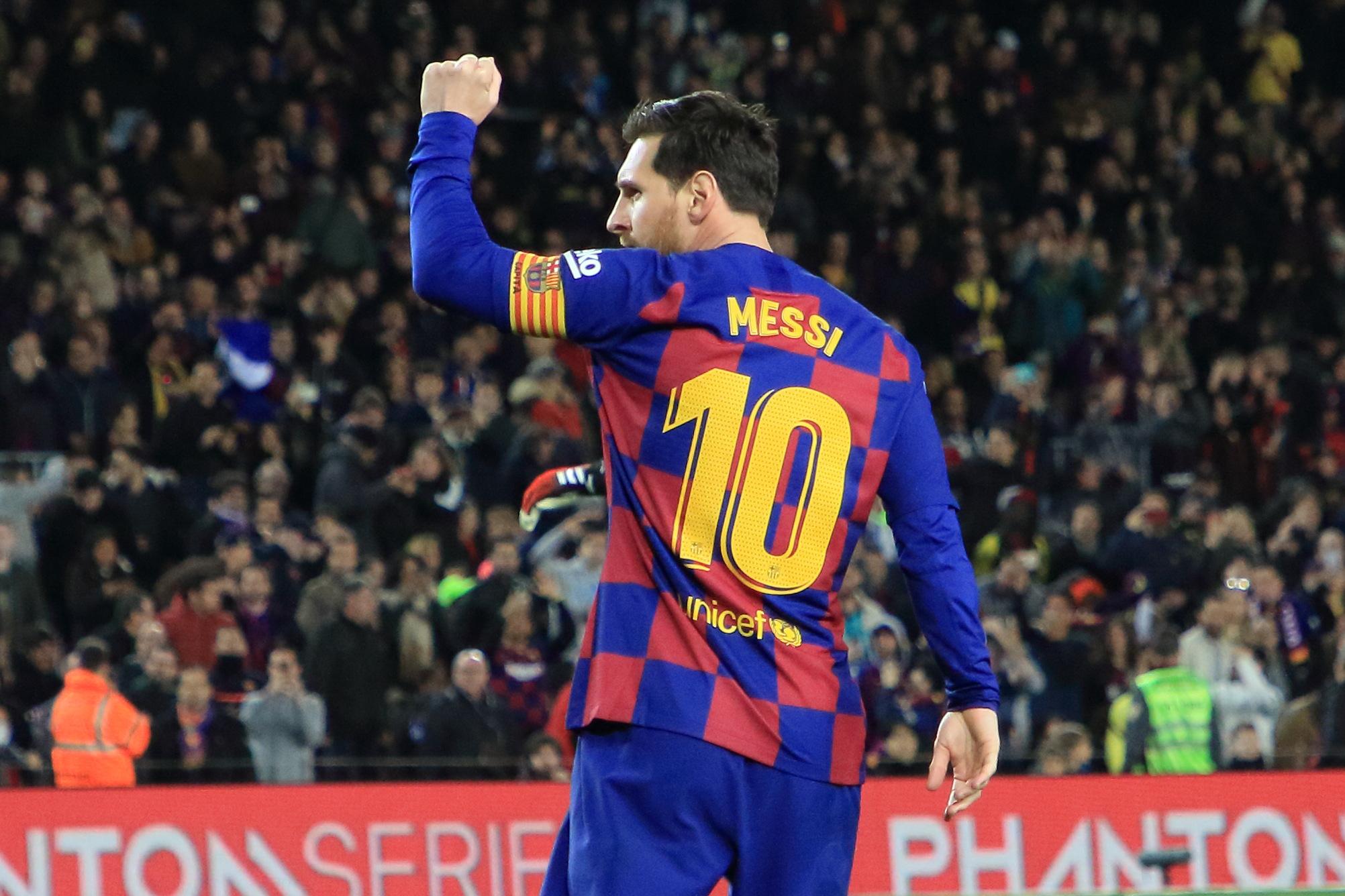Lionel Messi's 4-goal 'poker'