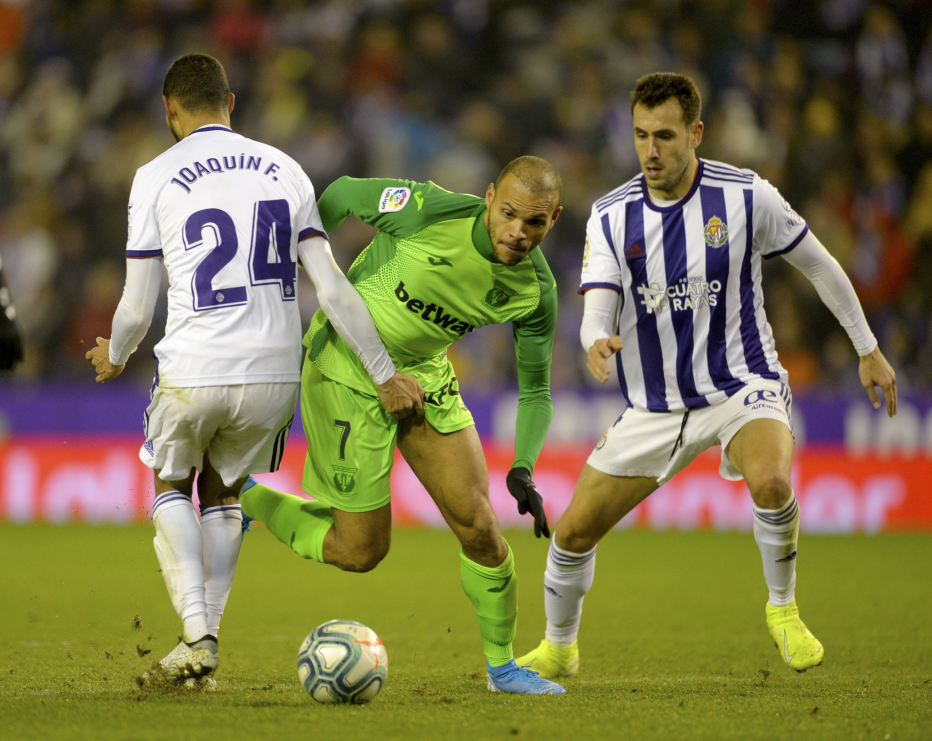 Valladolid and Leganes start 2020 with a bang