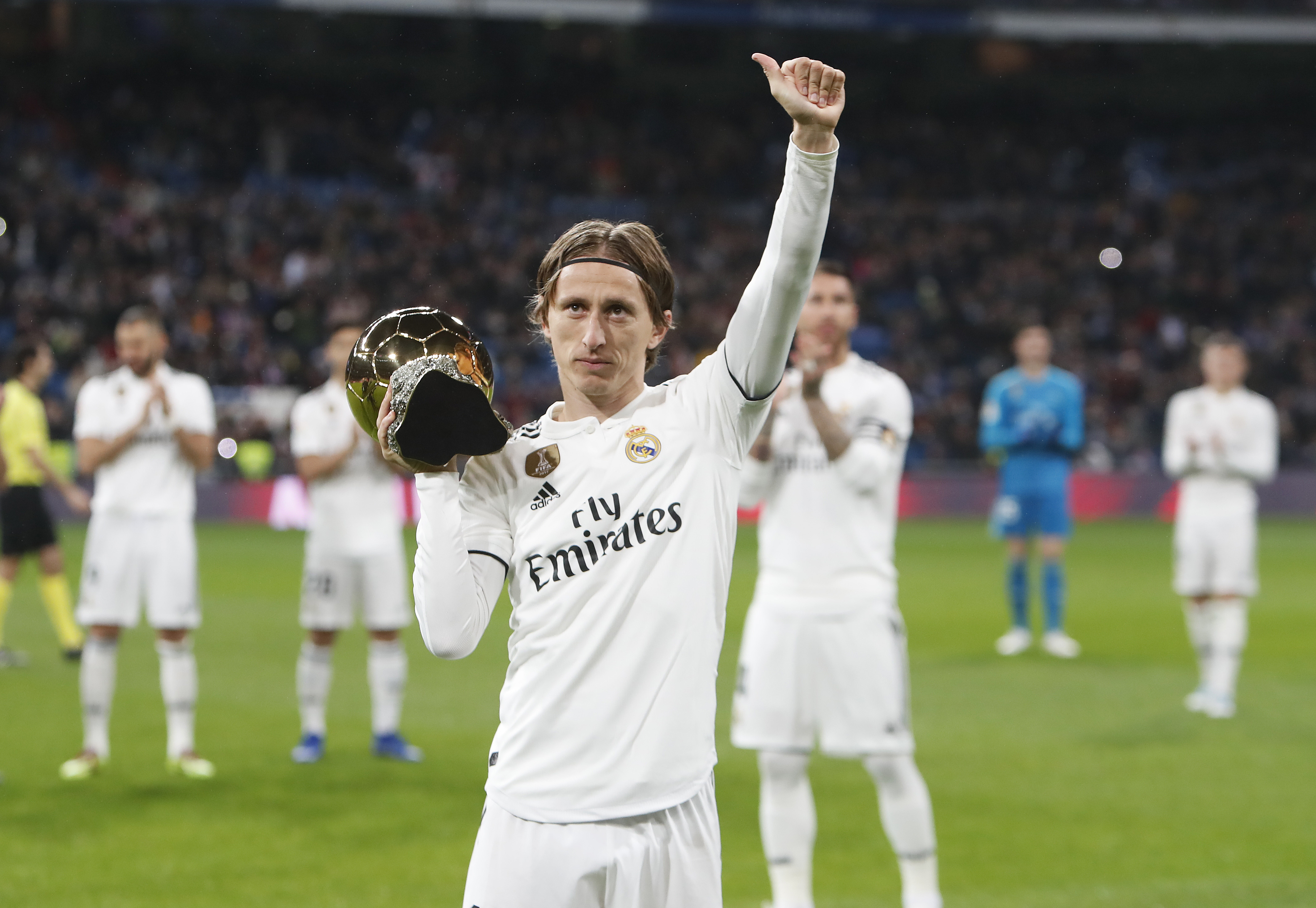 Modric won the 2018 Ballon d'Or