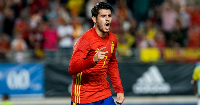 Morata is yet to go to a World Cup with Spain