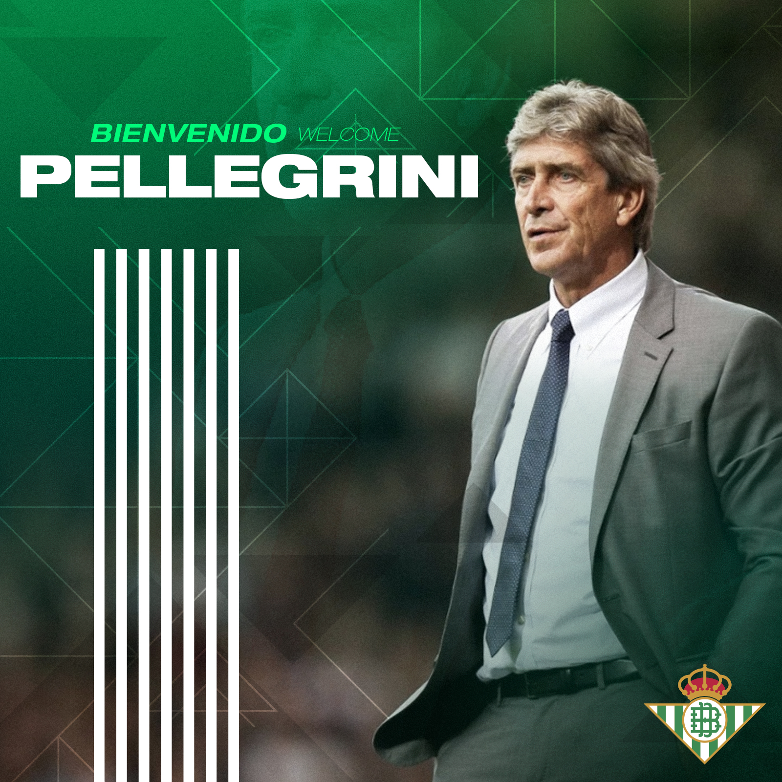 Manuel Pellegrini takes over at Real Betis