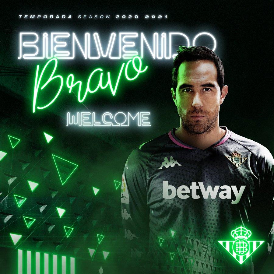 Claudio Bravo - Real Betis (Credit Real Betis)