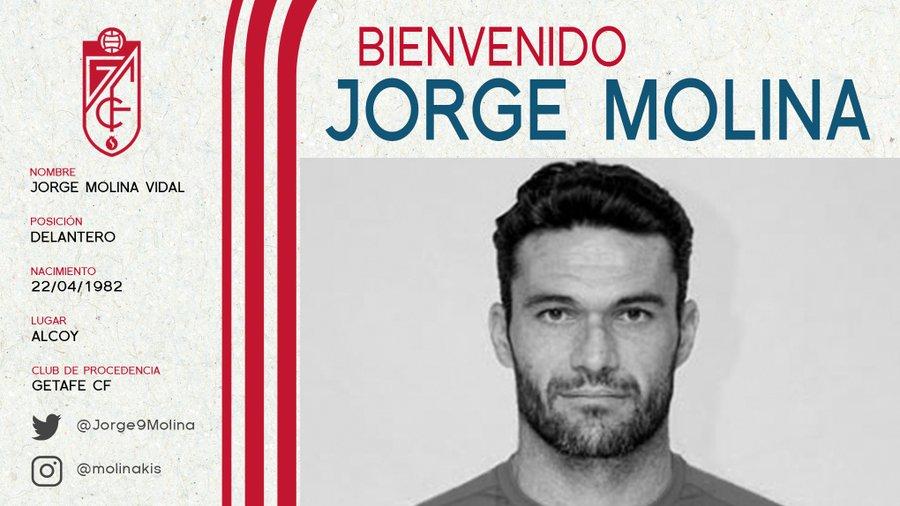 Jorge Molina - Granada CF (Credit Granada CF)